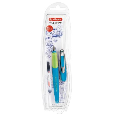 Ручка пір'яна Herlitz My.pen Sport Blue