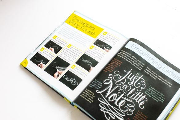 The Complete Book of Chalk Lettering : Create & Develop Your Own Style