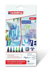Маркер Edding 4200 Porcelain brushpen Colour Set 099
